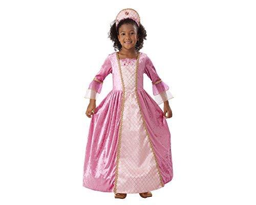 Disfraz de Princesa Rosa Infantil (3-4 años)