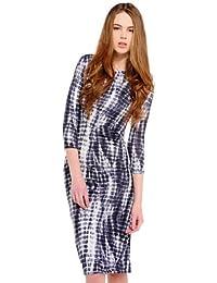 So in Fashion robe des femmes Tie Dye Midi Robe - Amelia