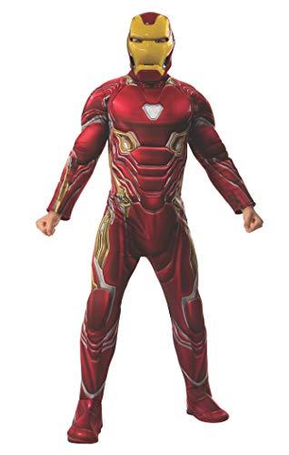 Rubie's Offizielles Avengers Endgame Iron Man, Deluxe Erwachsene Herren Kostüm (Avengers Erwachsene Kostüm)