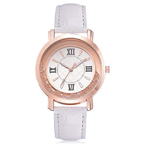 VJGOAL Damen Uhren, Frauen Mädchen Ultradünne Strass Süß Armbanduhren Mode Trend Watch Geburtstagsgeschenk