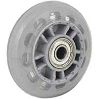 TOOGOO(R) Skating Shoes 608ZZ Bearing Inline Skate Wheel Clear Gray