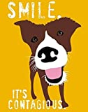 The Poster Corp Ginger Oliphant – Smile Fine Art Print (27.94 x 35.56 cm)