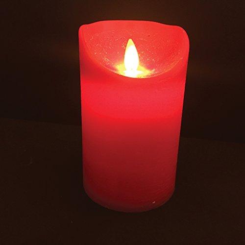 Vela 7x 12h LED roja B/0