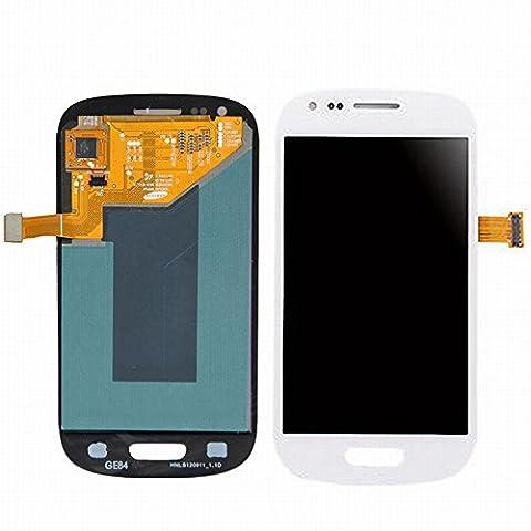 ixuan für Samsung Galaxy S3 Mini i8190 i8200 LCD Display Touchscreen Assembly Ersatz ( ohne Rahmen ) ( Weiß (Galaxy S3 Display Kaufen)