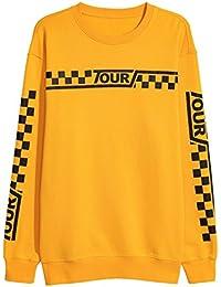 Identity Purpose Tour Stadium Tour Sweatshirt Yellow New Justin Bieber Merch