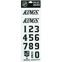 NHL Decals - Los Angeles Kings - White helmet