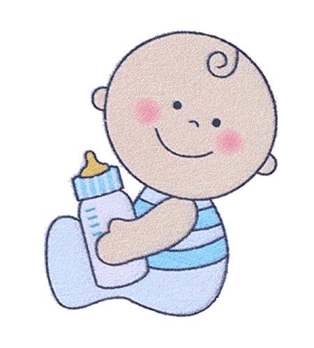 STREUDEKO 12 STÜCK - BABY SHOWER BABYPARTY GEBURT PARTY TISCH DEKO DEKORATION TAUFE PARTYDEKORATION TISCHDEKO KONFETTI ITS A BOY JUNGE BLAU