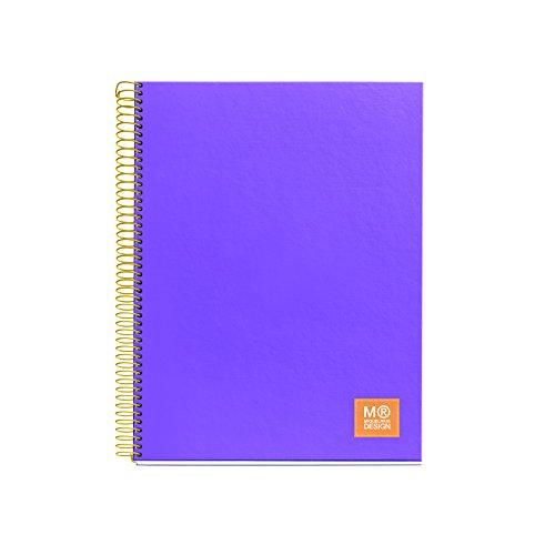 miquelrius-2728-carnet-brillant-a4-80-feuilles-quadrille-80-grammes-lilas