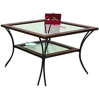 Tavolino Salotto Ferro Battuto E Vetro.50 Spazio Casa Tavolino Da Salotto In Legno Con Piedi In Ferro