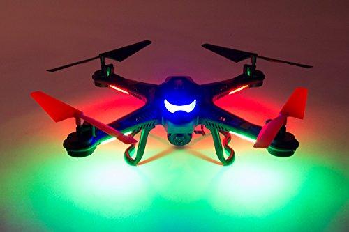 XciteRC 15002110 - RC Quadrocopter - Rocket 260 3D, 4 Kanal RTF Drohne mit 0.3 MP Kamera, weiß - 3
