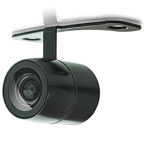 XOMAX XM-017 Universal Auto Rückfahrkamera Set mit Halterung für Unterbau, 5m Kabel, Cinch RCA Anschluss, Weitwinkel 170° Grad, 12V Betrieb