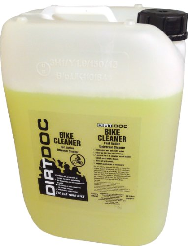 Wheel Cleaner Refill (Dirt Doc Bike Cleaner: 10L Refill (With Tap))