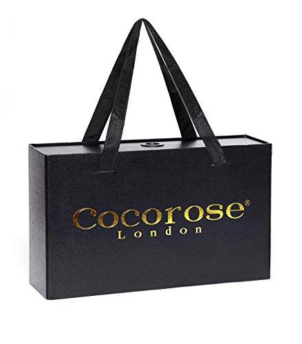 Cocorose London Scarpe Pieghevoli - Chelsea Scarpe da Ballet Donna Grigio