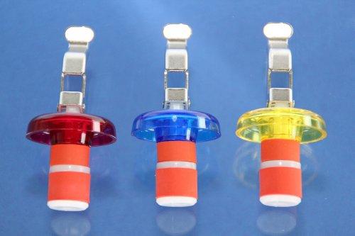 De-Plastik-6022-110-Universal-Flaschenverschlu-80-x–33-mm-bunte-Farben-3er-Set