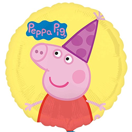 Amscan-International-3190901-Peppa-Pig-Standard-Folienballon