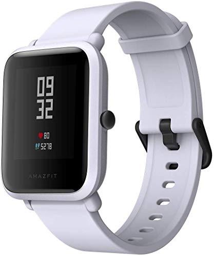 AMAZFIT HUAMI Bip Smartwatch Lite Youth GPS Smart Watch Orologio Sportivo Cardiofrequenzimetro IP68 Impermeabile Fitness Tracker Barometro Bianco