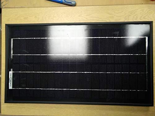 Hi-Tech Solar 20w Monocristalline Solar PV Módulo Premium Negro Panel C/W Negro Reverso Hoja Módulo solar (20 W) para usar para recargar baterías de 12 V CC. Recomendamos el uso de controlador de carga/regulador para detener el suministro de baterías...