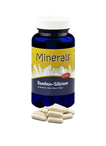 Minerals Bambus-Silizium 36g ca. 60 Kapseln a 600mg