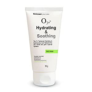 O3+ Hydrating & Soothing Face Wash - 50gms