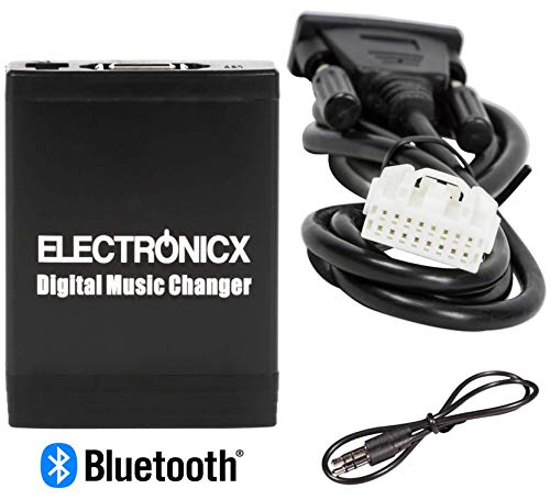 Electronicx Elec-M06-MAZ1-BT Digitaler Musikadapter USB, SD, MP3 AUX Bluetooth Freisprechanlage Mazda bis 2009 Autoradio Bk-audio
