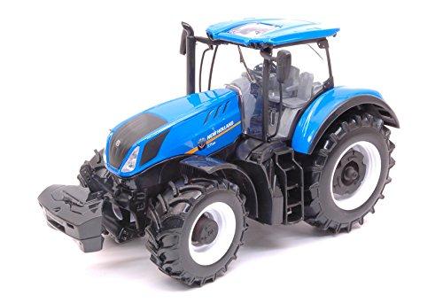 Trattore new holland t7.315 farm agriculture 1:32 - burago - mezzi agricoli e accessori - die cast - modellino