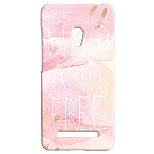 Theskinmantra Wild and Free Back Cover for Asus Zenfone 5