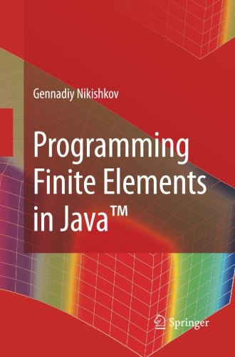 Programming Finite Elements in JavaTM