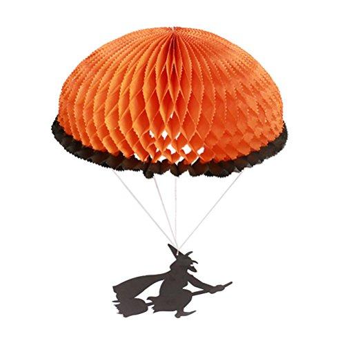 Dekoration Papier Hexe Parachute Dekorative Anhänger für Party Zubehör Entwickelt (Hängende Hexe Dekoration)