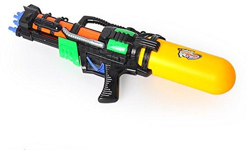 TREESTAR Übergroße Wasser Jet Spielzeug High Druck Range Shooting Kind Shooting Spielzeug Strand Wasser Spritzwasser Spielzeug Schwarz (eine für Verkauf) Größe 51cm * 20cm