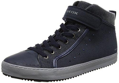 (Geox Unisex-Erwachsene J Kalispera I Hohe Sneaker, Blau (Navy), 41 EU)