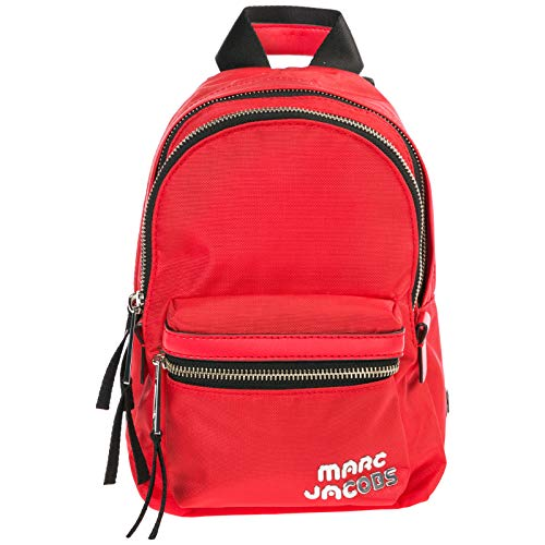 Marc Jacobs damen Trek Rucksack poppy red
