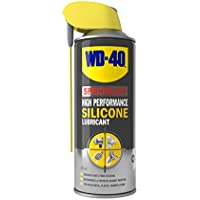 WD-40 Specialist, High Performance Silicone Lubricant with Smart Straw, Lubricates & Removes Water in All Weather, 400ml