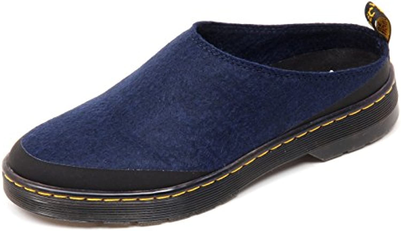 D1722 sabot donna DR. MARTENS ELYSIA scarpe blu shoe woman