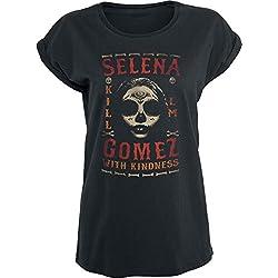 Selena Gomez Kill Em Maglia donna nero L