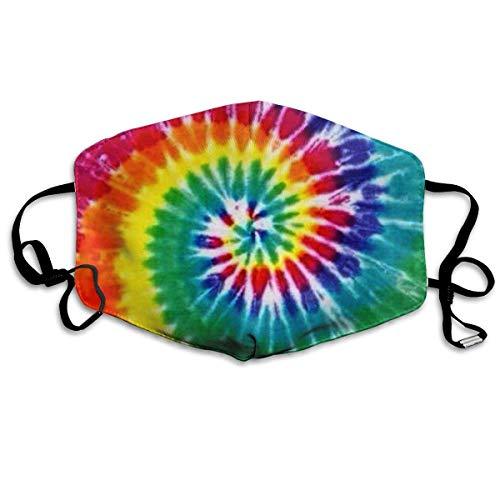Anti-vortex-cover (Masken für Erwachsene Face Masks Anti-Dust Mouth Cover Lovely Rainbow Vortex Washable And Reusable Mask Warm Windproof For Women Men Boys Girls Kids)