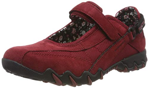 Allrounder by Mephisto Damen NIRO Cross-Trainer, Rot (Red Element/Red Element Coresuede 16/Nb Mesh 16), 7 EU -