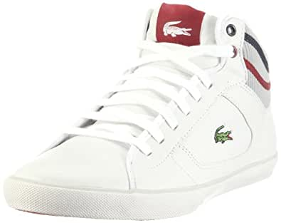 Lacoste Camous VY 723SPM31421Y8, Baskets mode homme - Blanc-TR-B2-18, 42 EU
