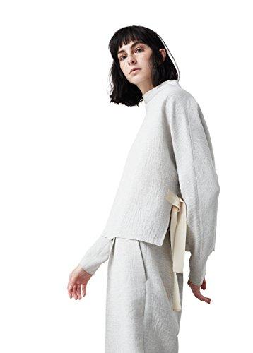 mango-bow-textured-shirts-sweatshirt-size10-colorgrey