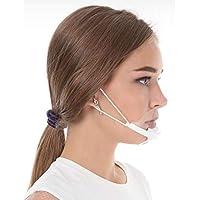 5X Visier Gesichtsvisier Maske Gesichtsschild Anti-Fog Face Shield KEIN BESCHLAGEN Weiss