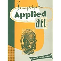 Simplified Applied Art: Reference Book on Human Anatomy and Lettering in English and Hindi for Young Commercial Artists