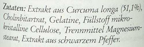 Sanct Bernhard Curcuma-60 Kapseln, 1er Pack (1 x 38 g)