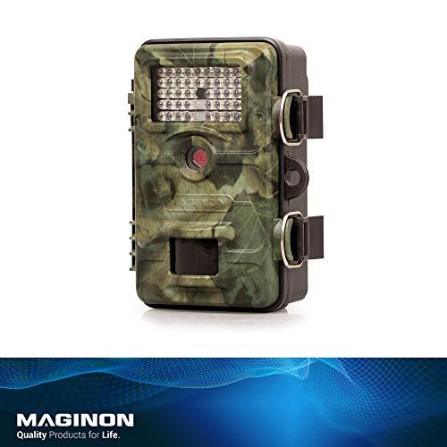 Maginon Wildkamera WK 4 HD WiFi, 4MP 1080P mit Infrarot-Nachtsicht bis zu 65 Fuß/20 m IP54 Spritzwassergeschützt für Outdoor-Natur, Garten, Haussicherheitsüberwachung, WiFi Bildübertragung 1080p-hd-42