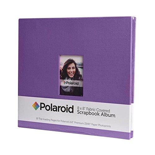 Polaroid PL2X3SBPR Fotoalbum mit Textileinband, 10Seiten, 1Stück, 203mm