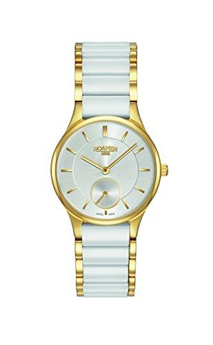 Police. 677855 48 15 60 - Reloj para mujeres, correa de cerámica color blanco