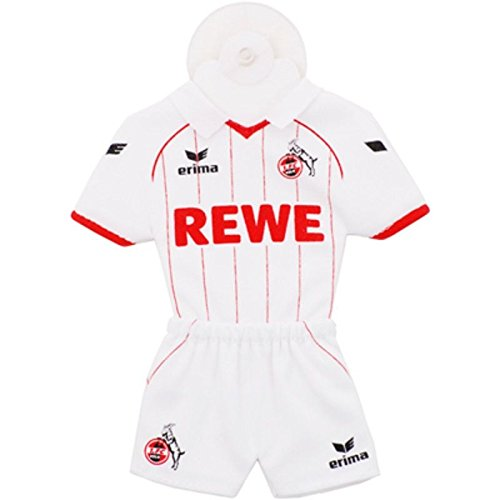 1. FC Köln Mini-Trikot mit Saugnapf [weiß]