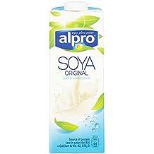 Alpro soja Lácteos original Longlife Leche Alternativa 1L (Pack de ...
