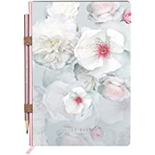 Ted Baker TED939 A5 Notebook with Pencil, Chelsea Border