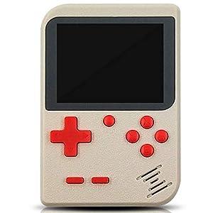 ZRK Kinderspielkonsole Spielkonsole-SUP Handheld-Spielkonsole 168 In die Spielekonsole eingebaute wiederaufladbare…