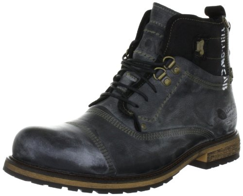 Yellow Cab SOLDIER M, Herren Biker Boots, Schwarz (Black), 43 EU