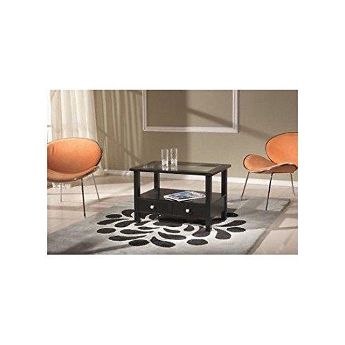 EsteaMobili estea Meubles – Table Basse rectangulaire laqué Noir
